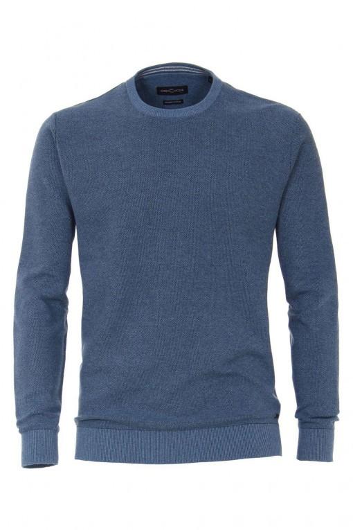Casa Moda V-hals Pullover- Blauw