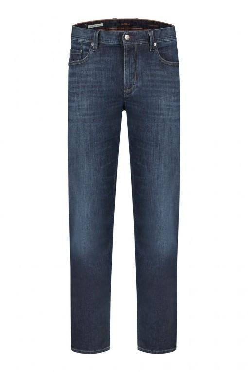 """Alberto Jeans Stone - Light Denim Navy, 40"""" inside leg"""