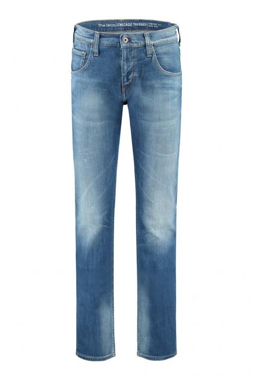 Mustang Jeans Tramper - Donkerblauw