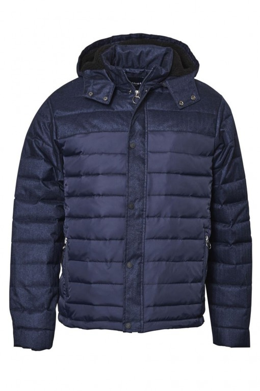 North 56˚4 - Winterjas Donkerblauw