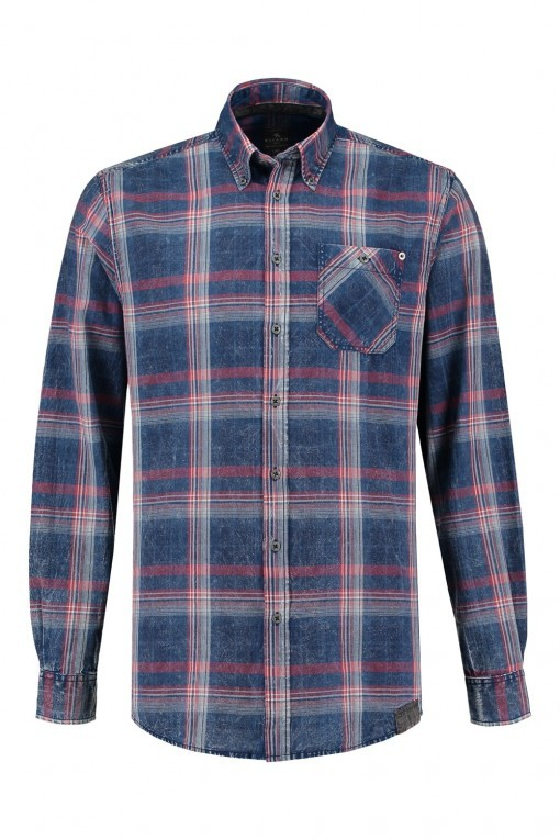 Kitaro shirt black, extra long sleeves