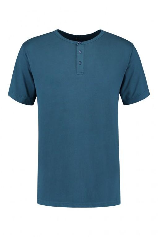 Replika Jeans T-Shirt - Donkerrood