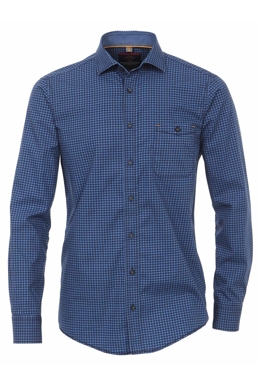 Casa Moda Tall Shirt Blue, for tall men   Highleytall®