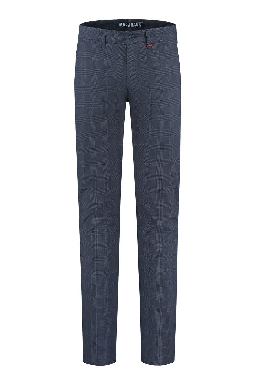 MAC Jeans Lennox Nautic Blue Checkered