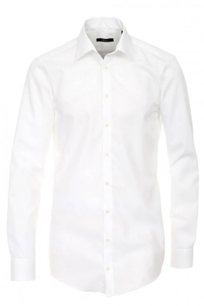 Venti shirt slim fit white