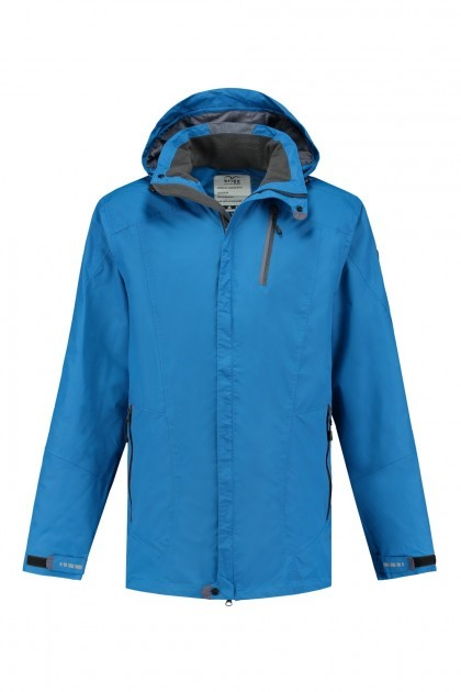 Brigg Outdoorjack - Navy-Neonorange