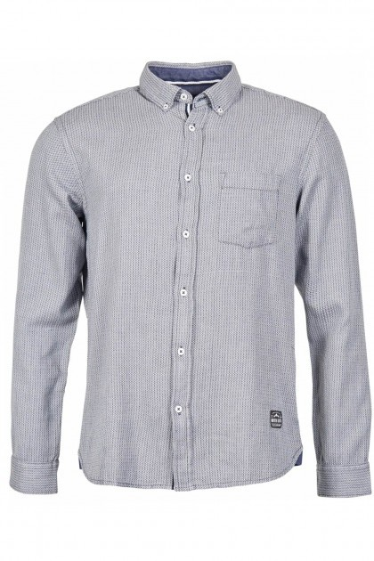 Casa Moda shirt blue checked, extra long sleeves