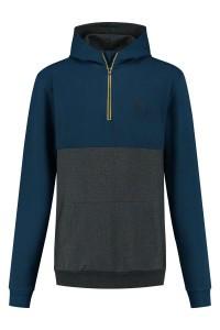 North 56˚4 - Hooded Sweater Bicolor Zip