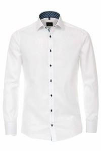 Venti Modern Fit Shirt - Kent White