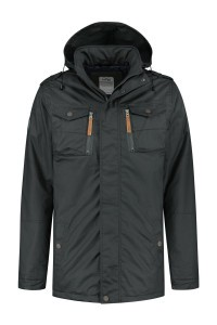 Brigg Winter Coat - Max Dark Grey
