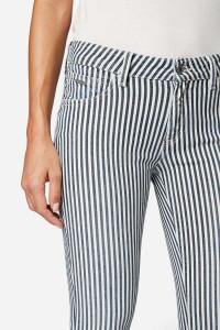 Mavi Jeans Nicole - Soft Stripe Spring Stretch