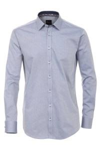 Venti slim fit shirt blue