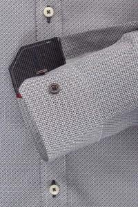 Venti body fit shirt grey