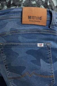 Mustang Jeans Chicago - Camo Denim