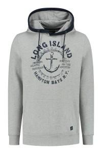 Kitaro Hoodie Sweater - Long Island Grey