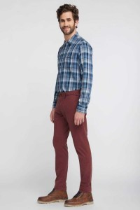 Mustang Jeans - Classic Chino Burgundy