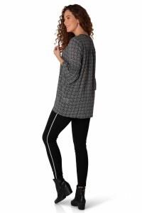 Yest Tunic - Pattern Black/White