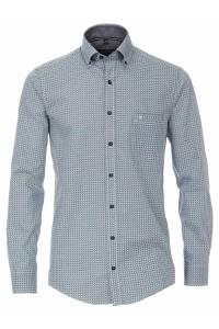 Casa Moda Casual Fit Shirt - Navy/Green