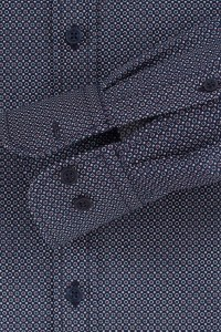 Casa Moda Casual Fit Shirt - Navy/print