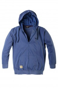 Replika Jeans Hooded Cardigan - Blue