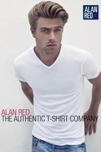 Alan Red Tall T-Shirt - Vermont