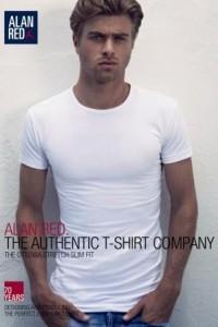 Alan Red T-Shirt - Ottawa White extra tall