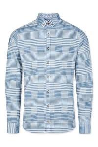 Colours & Sons - Dress Shirt Blue Stripes