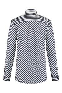 Eterna - Blouse Striped Dark blue/white