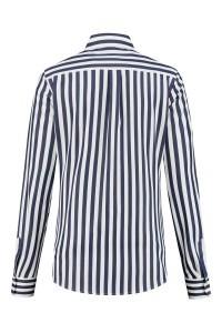 Eterna - Blouse Striped White/Dark blue