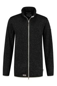 Blue Wave Fleece Jacket - Anthracite Melange