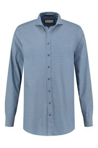 Blue Crane tailored fit shirt - Blue/patterned