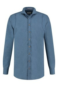 Blue Crane tailored fit shirt - Denim Blue