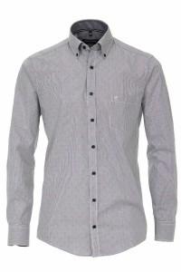Casa Moda Casual Fit Shirt - Grey/red