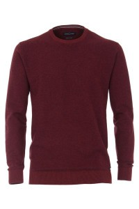 Casa Moda Knit Pullover - Dark Red