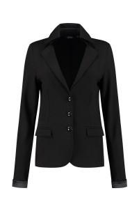 Chiarico - Short Blazer Punto Black
