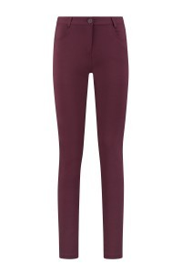 Only M Trousers - Celine with piping burgundy