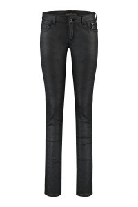 Mavi Jeans Edita - Crashed Black Jeather