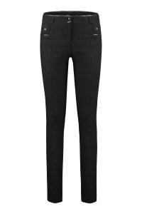 Only M Trousers - Jacquard Black