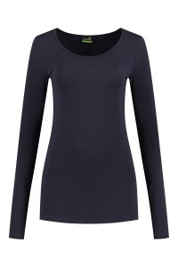Sequoia - Basic top long sleeve navy