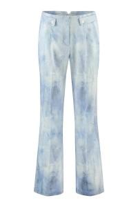 Corel Trousers Lily - Blue Linen