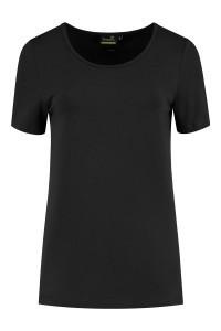 Sequoia - Basic top short sleeve black