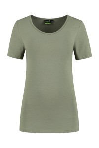 Sequoia - Basic top short sleeve khaki