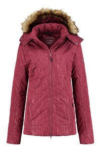 Brigg Quilted Coat - Red