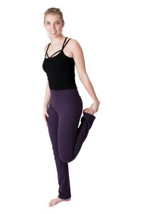 We Love Long Legs - Tall yoga pants violet