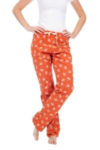 We Love Long Legs - Pyjama Pants Ginkgo Orange