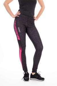 Panzeri ladies running tight - Turbo black/pink