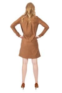 Only M - Dress Camoscio Camel