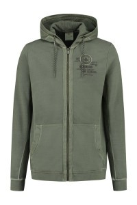 Kitaro Sweat Jacket - Air Legends Olive