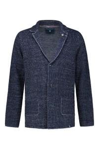 Colours & Sons knit cardigan blue blend