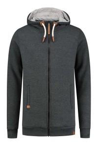 Brigg Sweat Jacket - Dark Grey